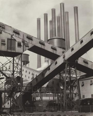 Criss-Crossed Conveyors - Ford Plant, 1927