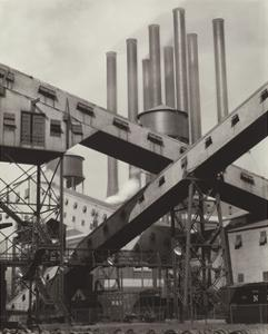 Criss-Crossed Conveyors - Ford Plant, 1927 by Charles Sheeler