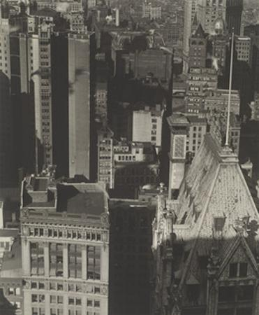 New York, Temple Court, distant view, Negative date: 1920