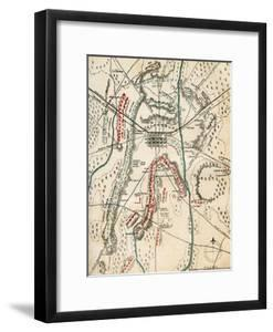 Map of the Battle of Gettysburg, Pennsylvania, 1-3 July 1863 (1862-186) by Charles Sholl