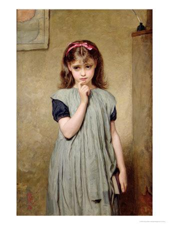 Young Girl in the Classroom, 1876