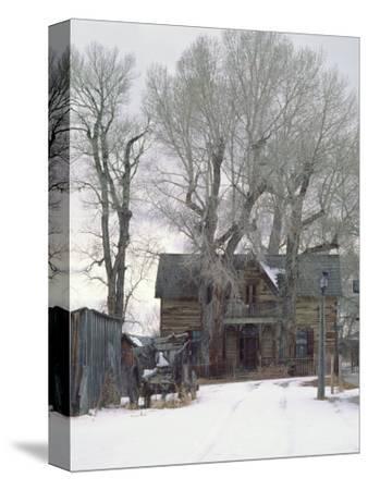 Abandoned House of Nevada City, Montana, USA