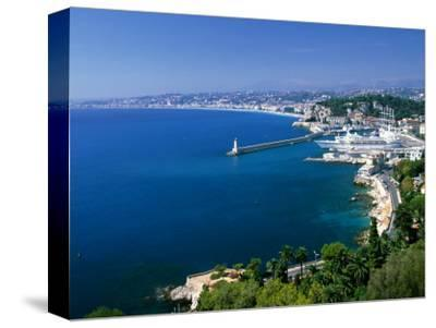 Aerial View of the Port, Nice, France