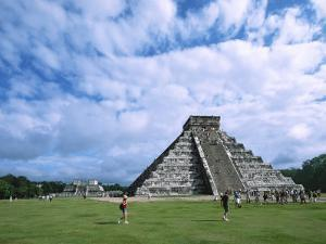 Chichen Itza Castle, Mexico by Charles Sleicher