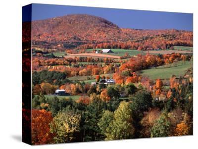 Farmland near Pomfret, Vermont, USA