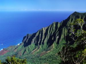 Na Pali Coast, Kauai, Hawaii, USA by Charles Sleicher