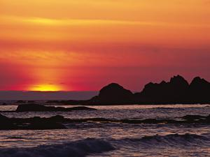 Rialto Beach at Dusk, Olympic National Park, Washington, USA by Charles Sleicher