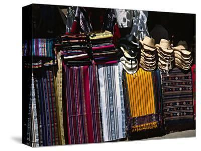 Stall in a Native American Street Market, Santa Fe, New Mexico, USA