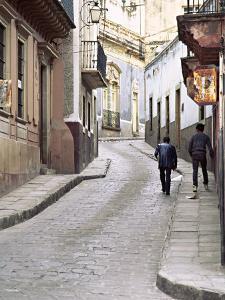Street Scene, Guadalajara, Mexico by Charles Sleicher