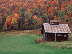 Sugar House on a Vermont Farm, USA by Charles Sleicher