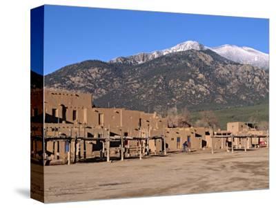 Taos Pueblo Buildings, New Mexico, USA