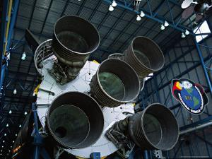 The Saturn V Rockets at the Apollo, John F. Kennedy Space Center, Cape Canaveral, Florida, USA by Charles Sleicher