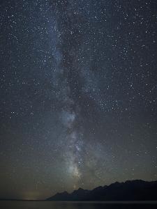 Milky Way Above the Teton Mountain Range by Charles Smith