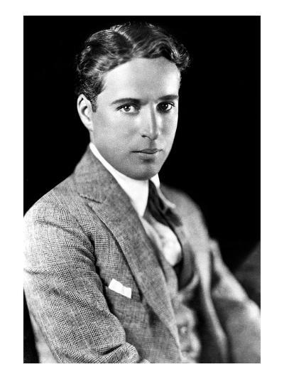 Charles Spencer Chaplin (1889-1977), English Actor and Comedian--Giclee Print