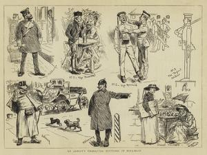 An Artist's Character Sketches in Berlin, II by Charles Stanley Reinhart