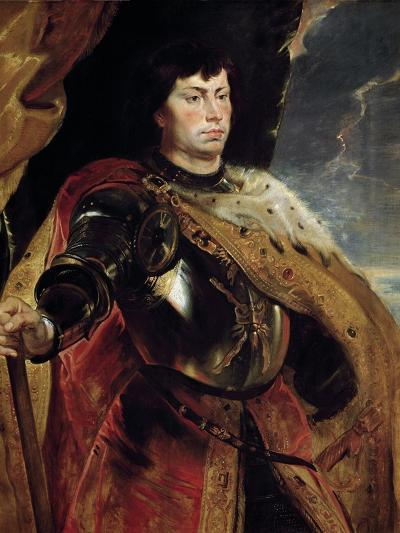 Charles the Bold of Burgundy by Peter Paul Rubens--Photographic Print
