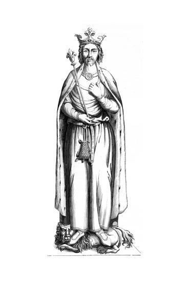 Charles the Simple (879-92), 16th Century--Giclee Print