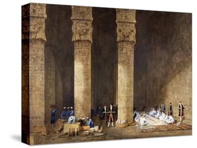 Breakfast in Egyptian Temple, from Empress Eugenie of France's Journey in Egypt