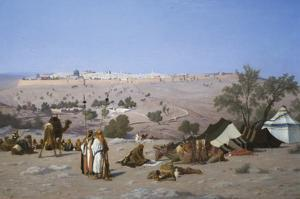 Jerusalem from the Environs by Charles Theodore Frere