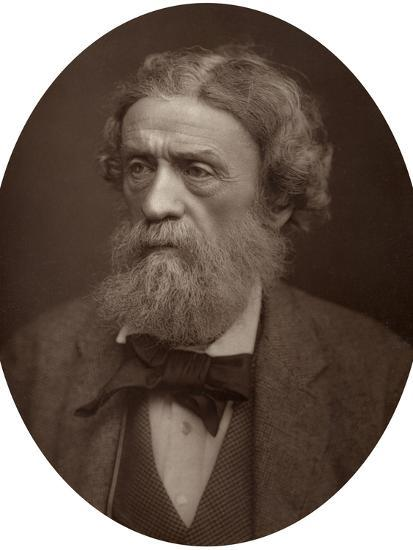 Charles Thomas Newton, Cb, Dcl, Professor of Archeology at University College London, 1883-Lock & Whitfield-Photographic Print
