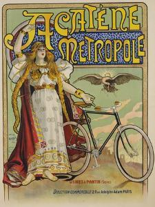 Acatene Metropole Poster by Charles Tichon