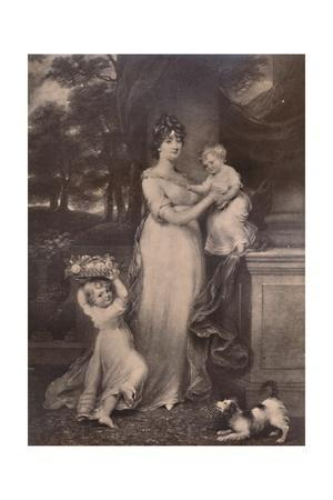 Maria Scott-Waring and her daughters, c 1804 (1894)
