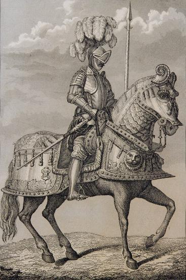 Charles V (1500-58)'s Armour Preserved in the Royal Armoury, Madrid, Spain--Giclee Print