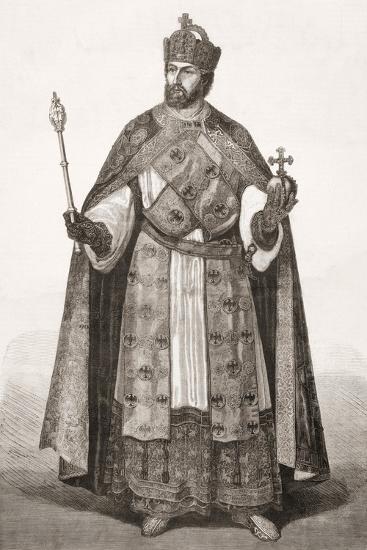 Charles V, Holy Roman Emperor, from 'L'Univers Illustré', 1866--Giclee Print