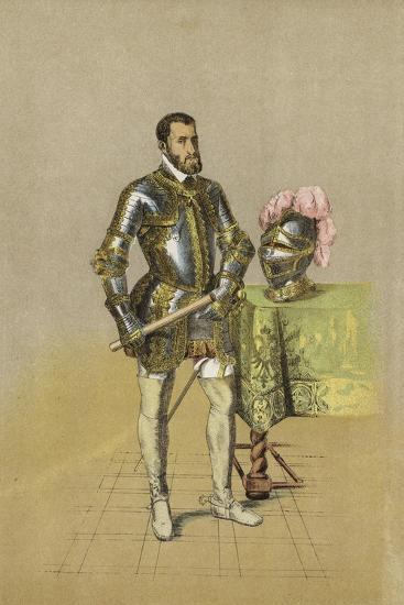 Charles V, Holy Roman Emperor--Giclee Print