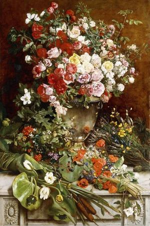 Homage to the Queen of Flowers, 1884