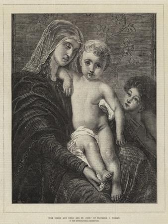 The Virgin and Child and St John