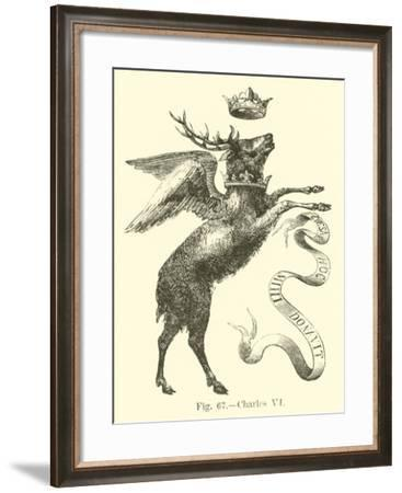 Charles Vi--Framed Giclee Print