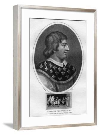 Charles VIII, King of France-J Chapman-Framed Giclee Print