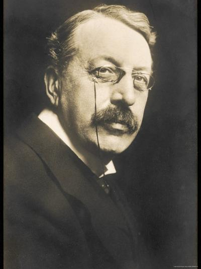 Charles Villiers Stanford British Composer Conductor and Teacher Born in Dublin--Photographic Print