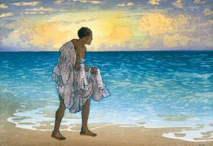 Hawaiian Fisherman, c.1925 by Charles W. Bartlett