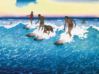Surf Riders Honolulu, Hawaii, c.1925
