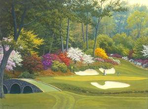 12th Hole at Augusta by Charles White