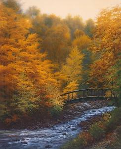 Autumn Stream by Charles White