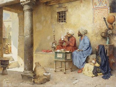 The Scribe, 1886 (Panel)