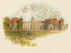 Hatfield House, Hertfordshire - South Front by Charles Wilkinson