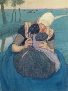 Mother and Child, 1900 by Charles William Bartlett