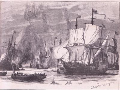 Sea Fight Off Cape Passaro Ad 1718