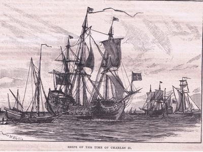 Ships of the Time of Charles II