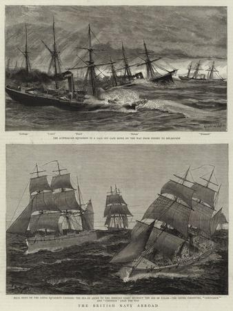 The British Navy Abroad