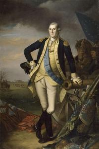 George Washington after the Battle of Princeton on January 3, 1777 by Charles Willson Peale