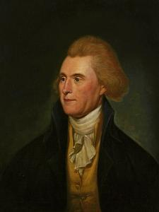 Thomas Jefferson, 1776 by Charles Willson Peale