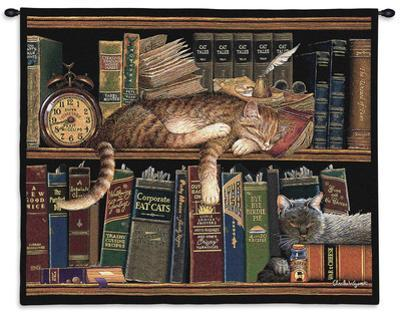 Remington the Well Read by Charles Wysocki