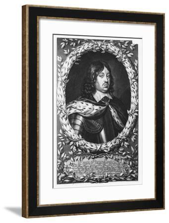 Charles X Gustav of Sweden--Framed Giclee Print