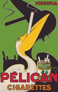 Pelican Cigarettes - American Virginia Tobacco by Charles Yray