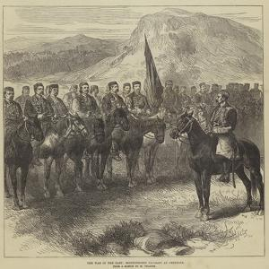 The War in the East, Montenegrin Cavalry at Cettigne by Charles Yriarte